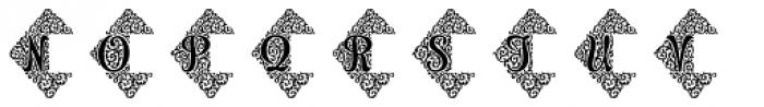 Adorn Duo Font UPPERCASE