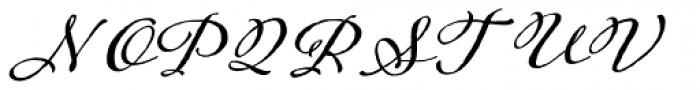 Adorn Garland Basic Font UPPERCASE
