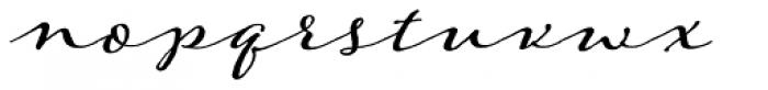 Adorn Garland Basic Font LOWERCASE