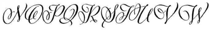 Adorn Pomander Basic Font UPPERCASE