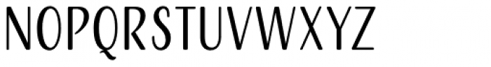 Adorn Smooth Condensed Sans Font LOWERCASE