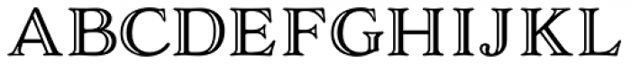 Adorn Smooth Engraved Font LOWERCASE