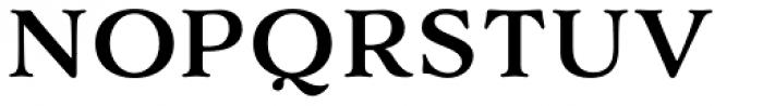 Adorn Smooth Serif Font UPPERCASE