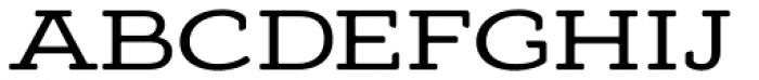 Adorn Smooth Slab Serif Font UPPERCASE