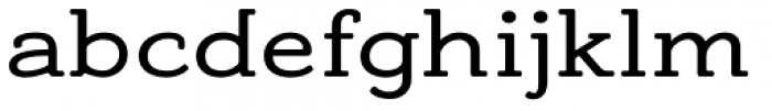 Adorn Smooth Slab Serif Font LOWERCASE
