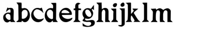 Adramalech Font LOWERCASE
