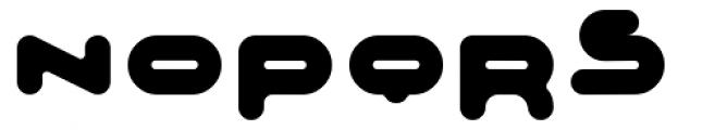 Adrenalin Bubble Font UPPERCASE