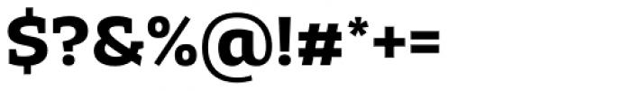 Adria Slab Bold Font OTHER CHARS
