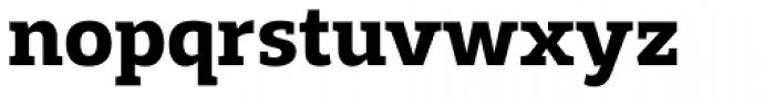 Adria Slab Bold Font LOWERCASE