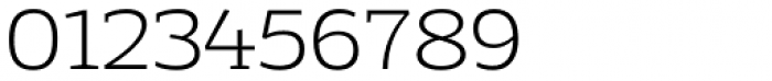 Adria Slab Extra Light Upright Italic Font OTHER CHARS
