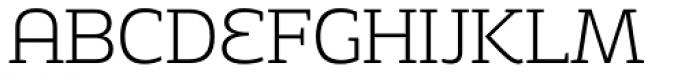 Adria Slab Extra Light Upright Italic Font UPPERCASE