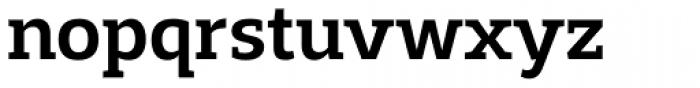 Adria Slab Medium Font LOWERCASE