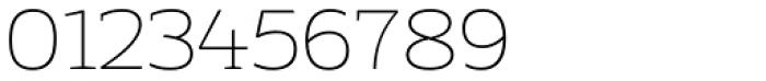 Adria Slab Thin Upright Italic Font OTHER CHARS