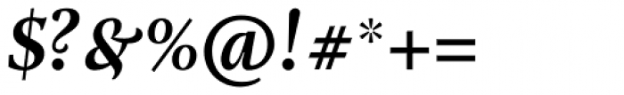 Adriane Text Bold Italic Font OTHER CHARS