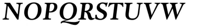 Adriane Text Bold Italic Font UPPERCASE