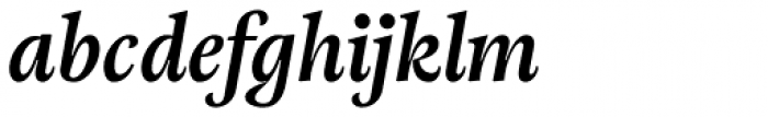 Adriane Text Bold Italic Font LOWERCASE