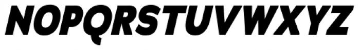 Adrianna Cond ExtraBold Italic Font UPPERCASE
