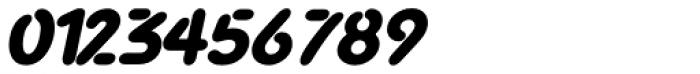 Advance Black Italic Font OTHER CHARS