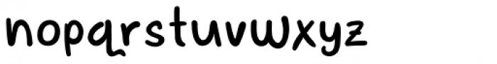 Adventura Letter Font LOWERCASE