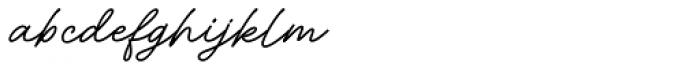 Adventures Unlimited Script Bold Font LOWERCASE