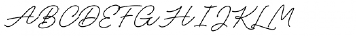 Adventures Unlimited Script Regular Font UPPERCASE