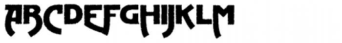 Advertising Gothic Plain Font LOWERCASE