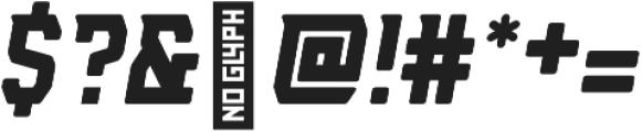AE Armada Rounded Italic otf (400) Font OTHER CHARS