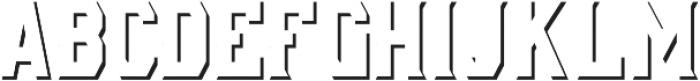 AE Armada Shadow otf (400) Font UPPERCASE