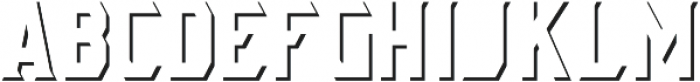 AE Armada Shadow otf (400) Font LOWERCASE