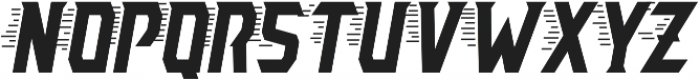 AE Armada Speed Italic otf (400) Font LOWERCASE