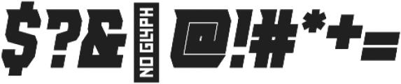 AE Armada otf (700) Font OTHER CHARS