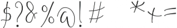 Aeipathy otf (400) Font OTHER CHARS