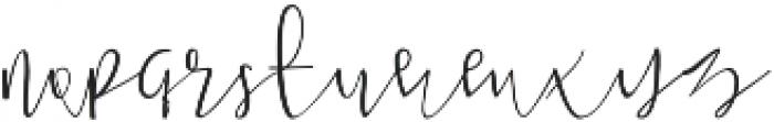 Aeipathy otf (400) Font LOWERCASE