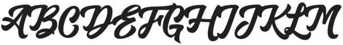 Aerokids otf (400) Font UPPERCASE