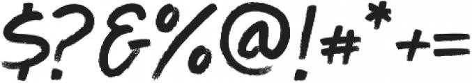 Aeron otf (400) Font OTHER CHARS
