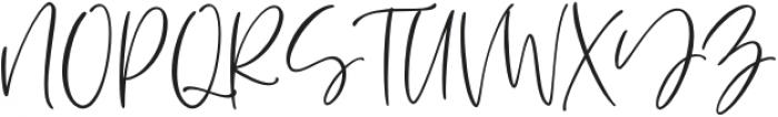 Aesthetic font otf (400) Font UPPERCASE