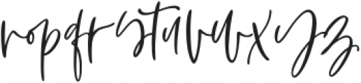 Aesthetic font otf (400) Font LOWERCASE