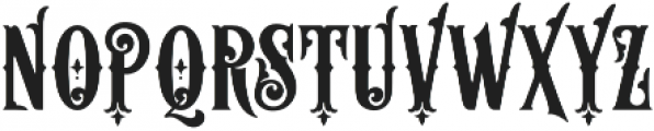 Aesthetique Regular otf (400) Font LOWERCASE