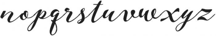 Aether Rain 4 ExtraBold otf (700) Font LOWERCASE