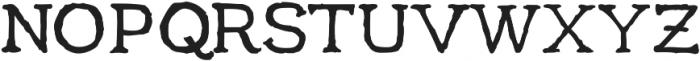 aeterna SmallCapsOsf ttf (400) Font UPPERCASE