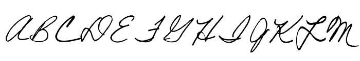 AEZ American Woman Font UPPERCASE