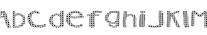 AEZ Vanity Font UPPERCASE