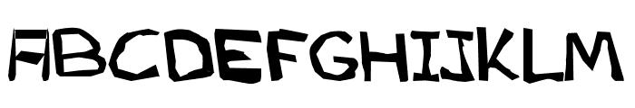 AEZ another font Font UPPERCASE