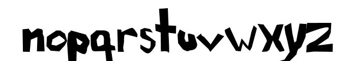 AEZ another font Font LOWERCASE