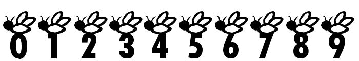 AEZ buzz buzz Font OTHER CHARS
