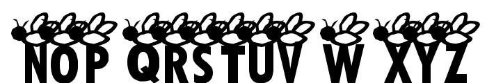AEZ buzz buzz Font UPPERCASE