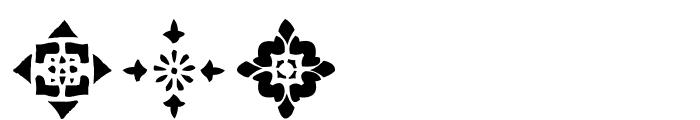 AEZ deco dings Font OTHER CHARS