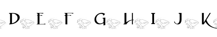 AEZ mother daughter ducks Font UPPERCASE