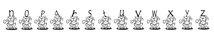 AEZ ruff, ruff Font LOWERCASE