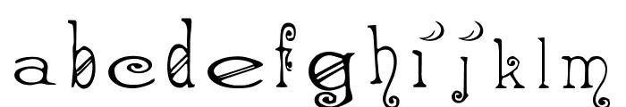 AEZ spooky Font LOWERCASE